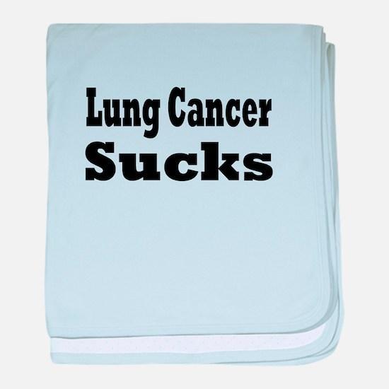 Lung Cancer Infant Blanket