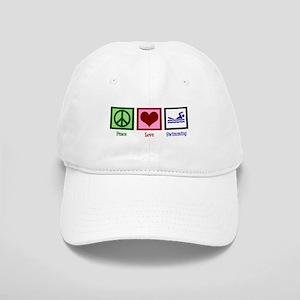 Peace Love Swimming Cap