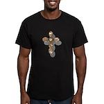 Cross Men's Fitted T-Shirt (dark)