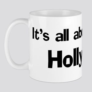 It's all about Holly Mug