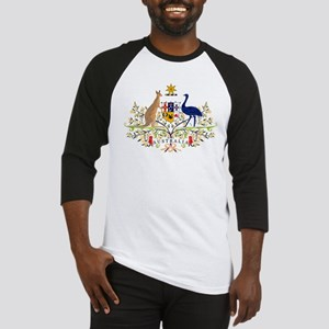 Australian Coat of Arms Baseball Jersey
