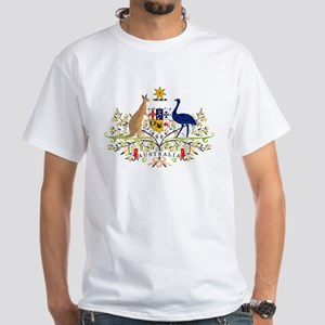 Australian Coat of Arms White T-Shirt