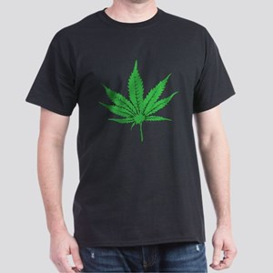 Weed Leaf Dark T-Shirt