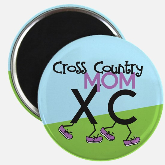 Cross Country Mom Magnet