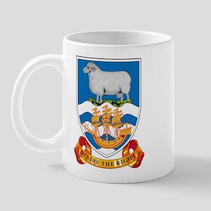 Falkland Islands Coat of Arms Mug