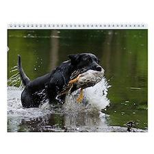 Labrador Retriever Wall Calendar
