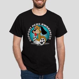 PCOS Dog Dark T-Shirt
