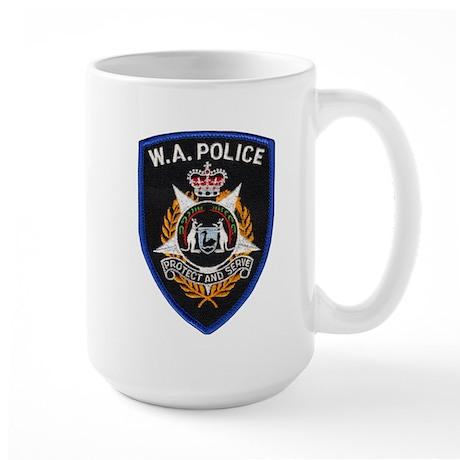 West Australia Police Large Mug