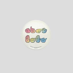 Pastel SIGN BABY SQ Mini Button