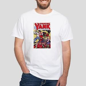 $19.99 Classic Fighting Yank White T-Shirt