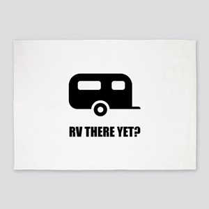RV There Yet 5'x7'Area Rug