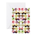 Cupcakes Greeting Cards (Pk of 20)