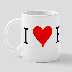 I Love Hoyas Mug