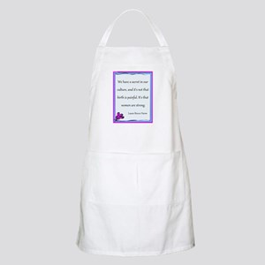 Women Are Strong 3 Apron