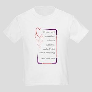 Women Are Strong 4 Kids Light T-Shirt
