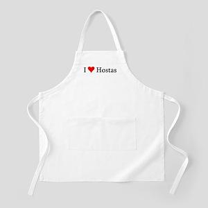 I Love Hostas BBQ Apron