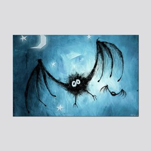 Bat Crescent Moon Night Sky 11x17 Mini Poster Prin