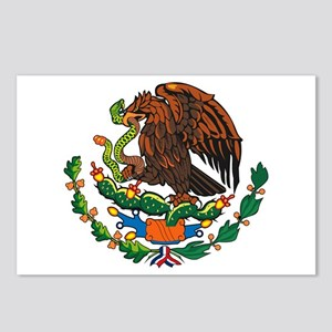 Mexican Coat of Arms Postcards (Package of 8)