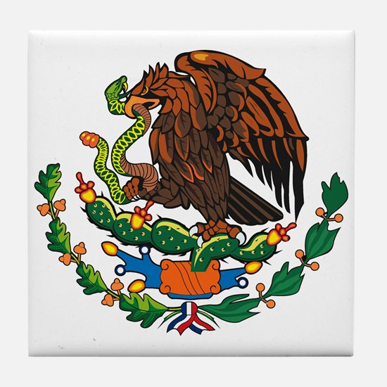 Mexican Coat of Arms Tile Coaster