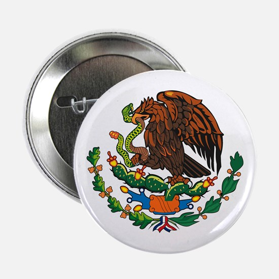 """Mexican Coat of Arms 2.25"""" Button (10 pack)"""