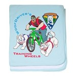 WoofDriver's Training Wheels Infant Blanket