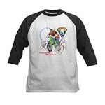 WoofDriver's Training Wheels Kids Baseball Jersey