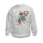 WoofDriver's Training Wheels Kids Sweatshirt