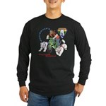 WoofDriver's Training Wheels Long Sleeve Dark T-Sh