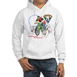WoofDriver's Training Wheels Hooded Sweatshirt
