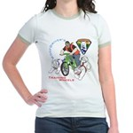 WoofDriver's Training Wheels Jr. Ringer T-Shirt