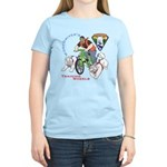 WoofDriver's Training Wheels Women's Light T-Shirt