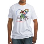 WoofDriver's Training Wheels Fitted T-Shirt