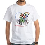 WoofDriver's Training Wheels White T-Shirt