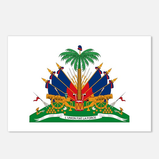 Haiti Coat of Arms Postcards (Package of 8)