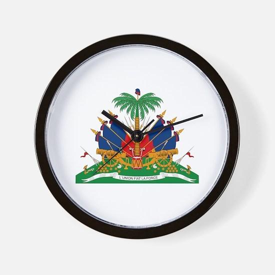 Haiti Coat of Arms Wall Clock