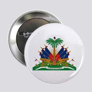 "Haiti Coat of Arms 2.25"" Button (10 pack)"
