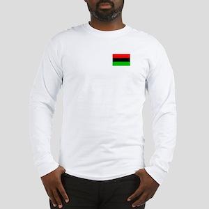African American Flag 3 Long Sleeve T-Shirt