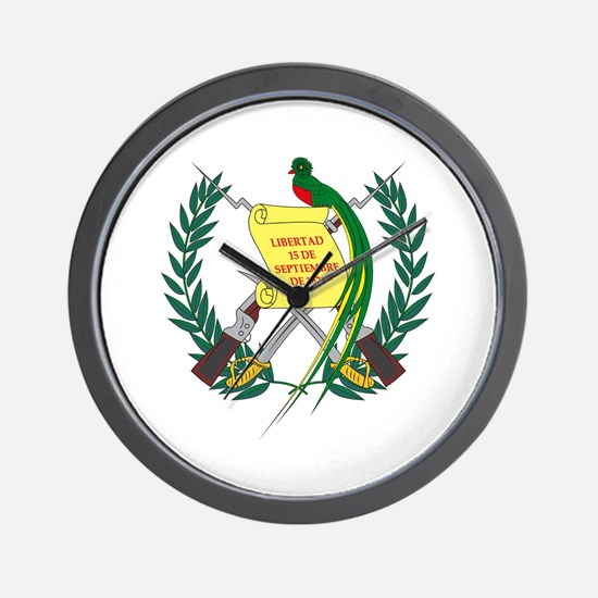 Guatemalan Coat of Arms Wall Clock