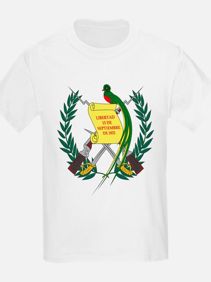 Guatemalan Coat of Arms Kids T-Shirt