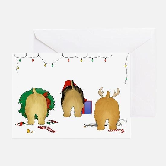Norfolk Terrier Christmas Greeting Card