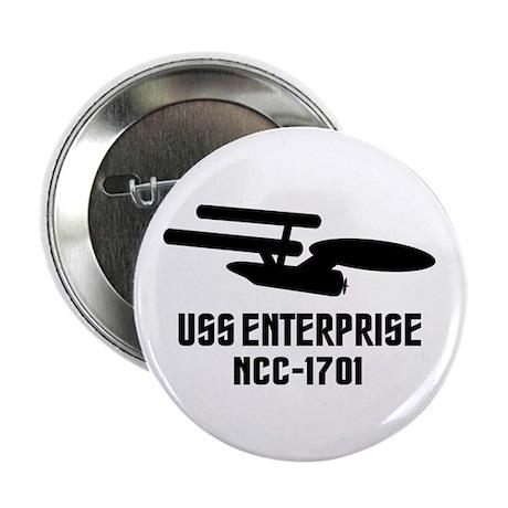 "USS Enterprise 2.25"" Button (10 pack)"