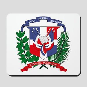 Dominican Republic Coat of Ar Mousepad