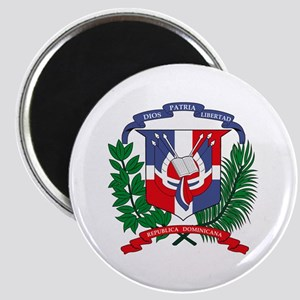 "Dominican Republic Coat of Ar 2.25"" Magnet (10 pac"