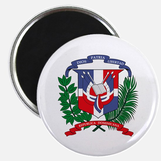 "Dominican Republic Coat of Ar 2.25"" Magnet (10 pac"