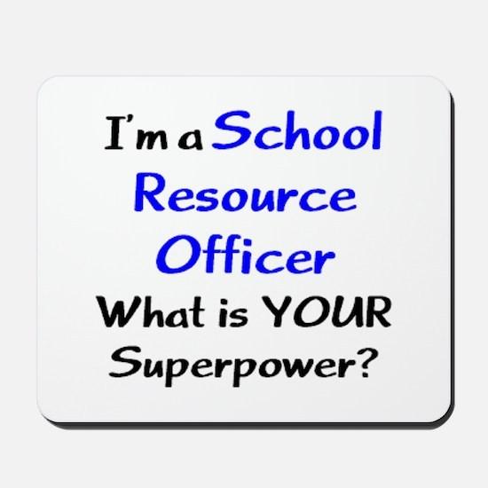 school resource officer Mousepad