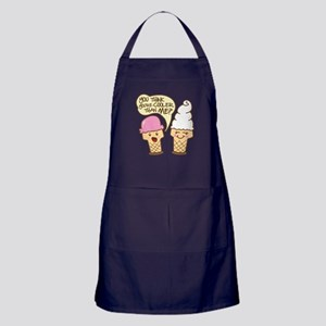 Cool Ice Cream Apron (dark)