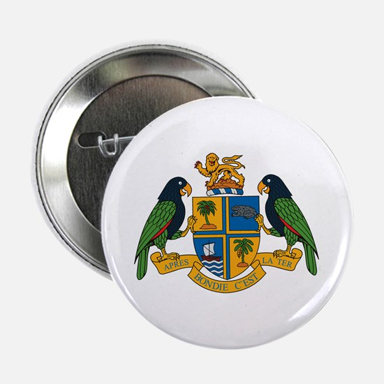 """Dominica Coat of Arms 2.25"""" Button (10 pack)"""