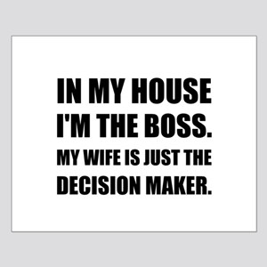 Boss Wife Decision Maker Posters