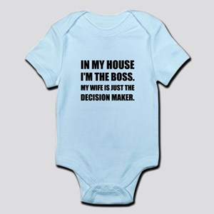 Boss Wife Decision Maker Body Suit