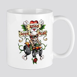 Love Kills Fear ATV Quad Mug